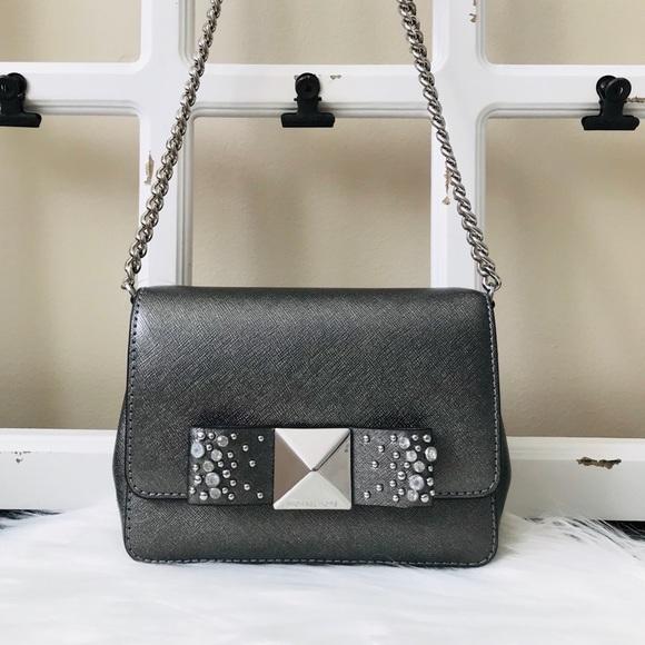 Michael Kors Handbags - MK Tina Small Clutch